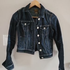 AEO Jean Jacket Dark Denim